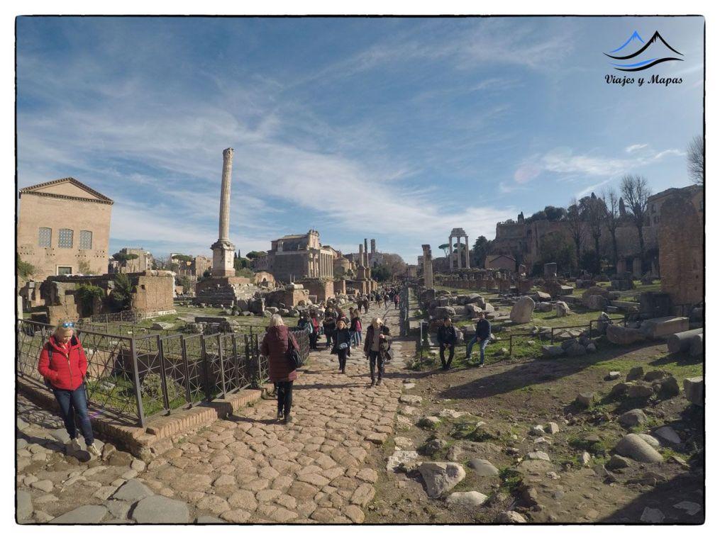el corazón de la antigua roma