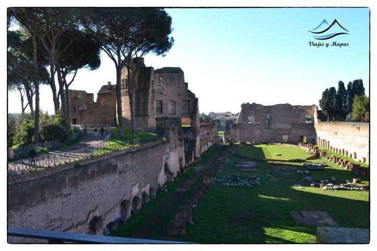El palatino roma