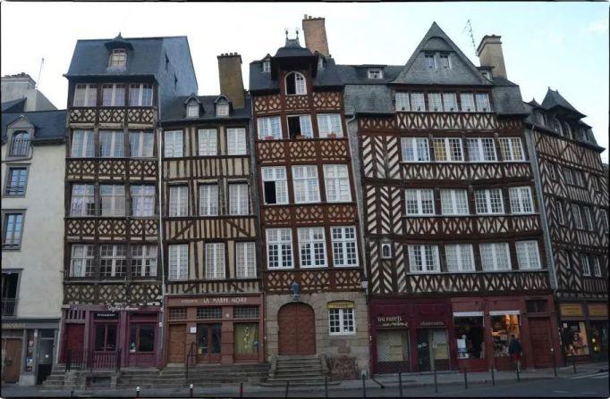 Casco histórico de Rennes