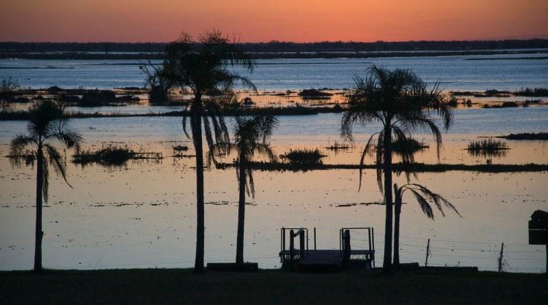 Atardecer en Esquina - Corrientes