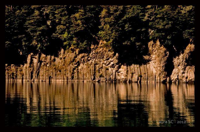 Camino al parque nacional Los Arrayanes