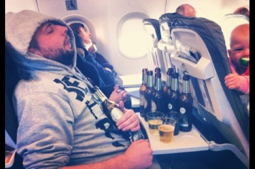 Drunk-sleeping-on-plane