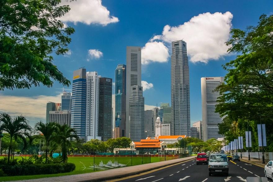skylines-Singapour