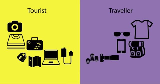 diferencias entre un viajero y un turista 5