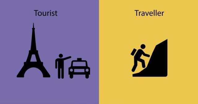 diferencias entre un viajero y un turista 8