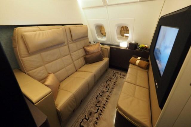 Este es el asiento de primera clase más lujoso que existe 3