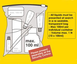 artículos prohibidos equipaje de mano