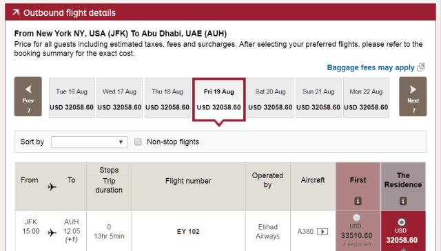 precio boleto de avión primera clase