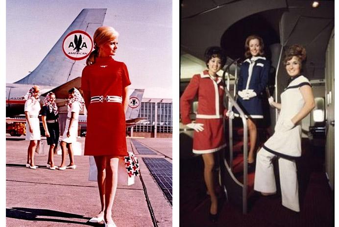 uniformes-azafatas-70s