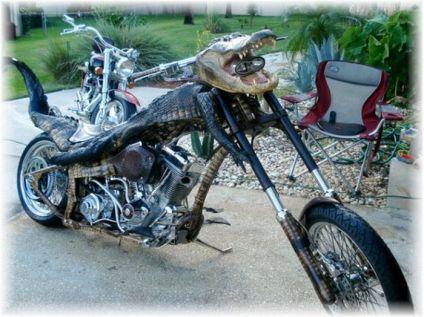 Conocíamos la moto Predator pero nos faltaba la Moto Aligator