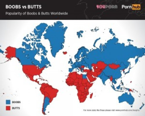pornhub-boobs-versus-butts-searches-worldwide
