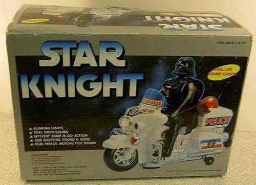 Las fuerzas policiales de la galaxia andan buscando al hijo desaparecido de Dark vader