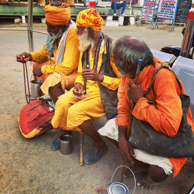 Santones en Pushkar