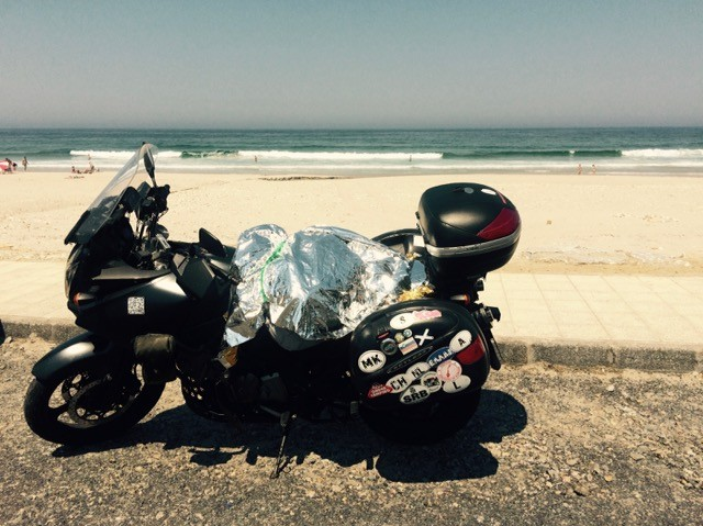 moto playa