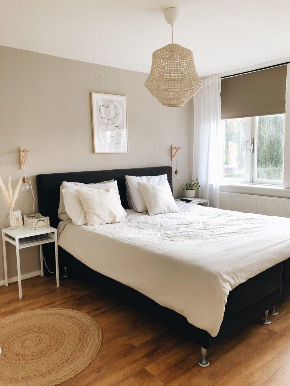 eindresultaat slaapkamer