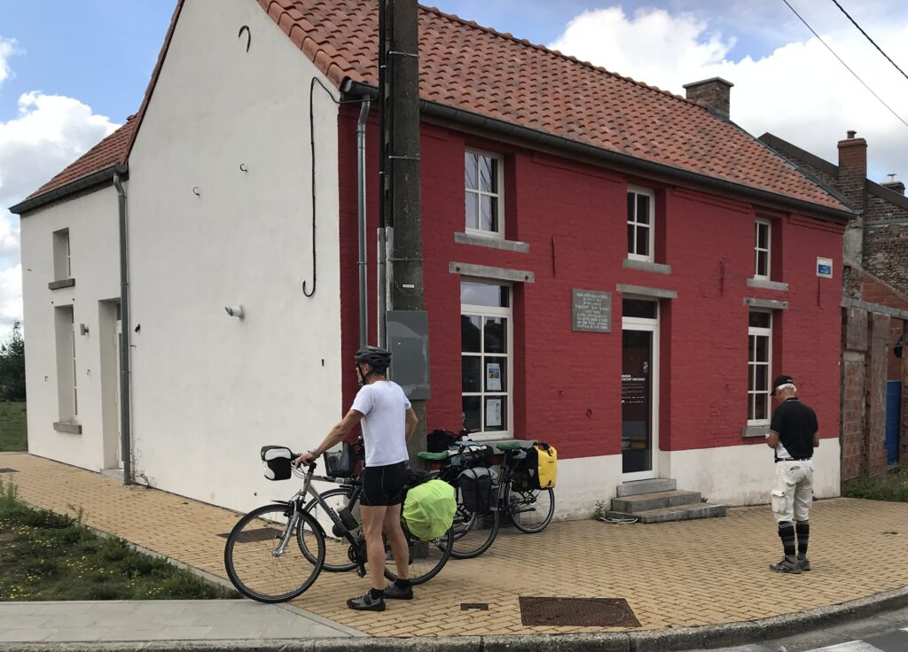 Van Gogh boede i Wasmes, Belgien