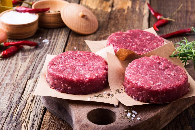 Nos steaks hachés