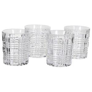 Cut Glass Set of 4 glasses
