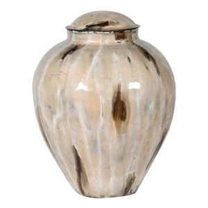 Coffee enamel jar (small)