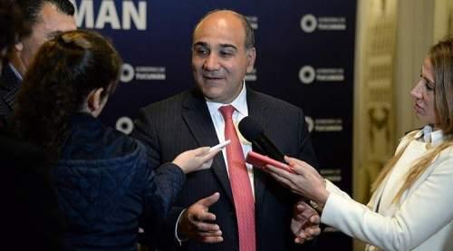 """Juan Manzur: """"Hay cada vez más pobres, cada vez cierran más fábricas"""""""