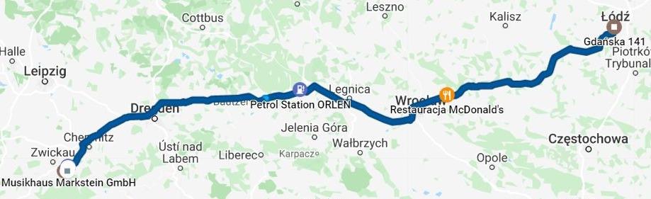 DAY 3 DAY 3 PITKÄ VALKOINEN PURO SAKSAN MOOTTORITIE, 4513 km pitkä postaus, kartta