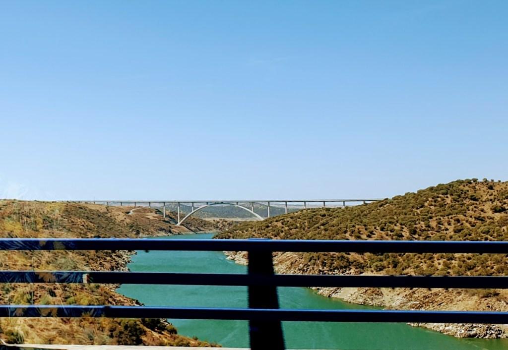 4513 km pitkä postaus - Day 6 KUIN VIIMEISTÄ PÄIVÄÄ - MOOTTORITIE AURINKOON, Ruta de la Plata (A-66), Tajo