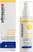 Laiskan perheenäidin parhaat aurinkovoiteet,  Ultrasun Daily UV Hair Protector
