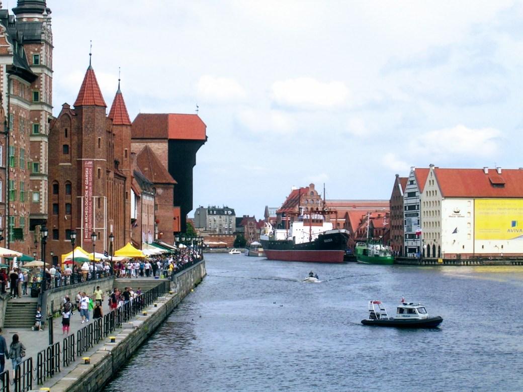 Meri - Päivän inspiraatiokuva, Gdansk