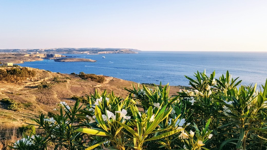 Meri - Päivän inspiraatiokuva, Qala, Gozo