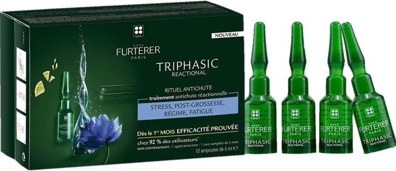 TRIPHASIC REACTIONAL Sudden hair loss treatment for thinning hair René Furterer (2)