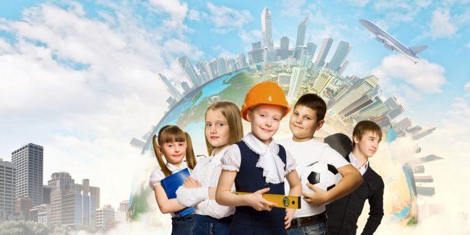 Tulevaisuuden koulu banner