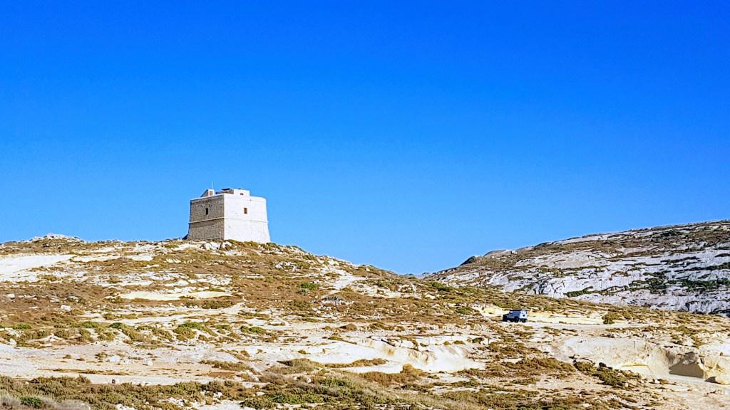 Gozon rantoja - Dwejra Bay - San Lawrenz, Dwejra Tower
