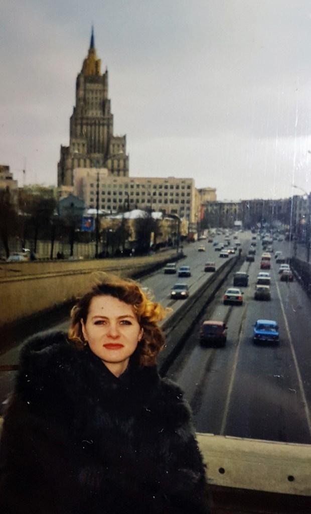 Ensimmäinen ulkomaanmatkani, Moskova