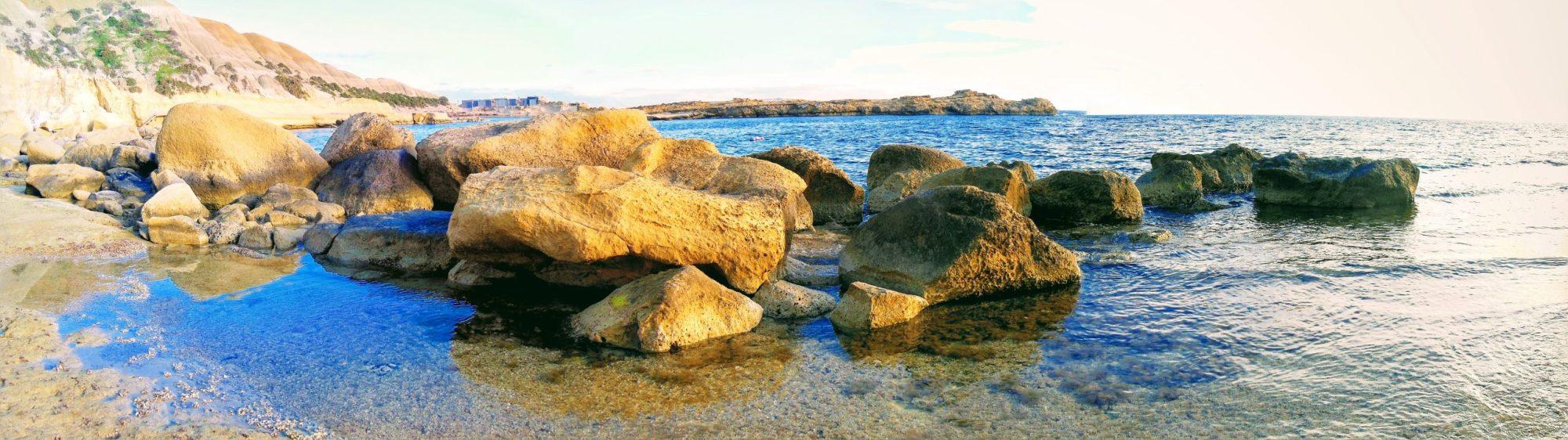 Gozon rantoja Ta' Sannat Mgarr ix-Xini Ta' Cenc Cliffs banner