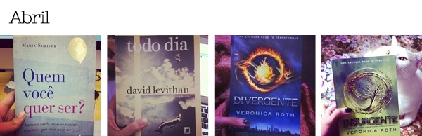 Livros lidos em Abril