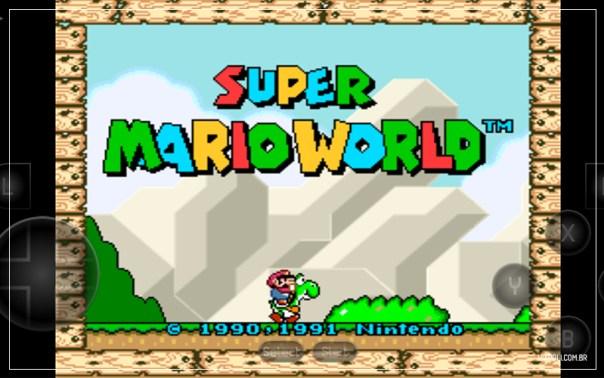 imagem do jogo super mario world