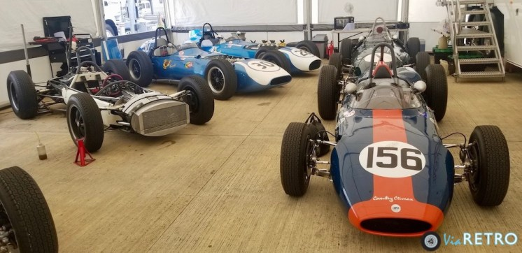 1960 pair Scarab Offenhausers,