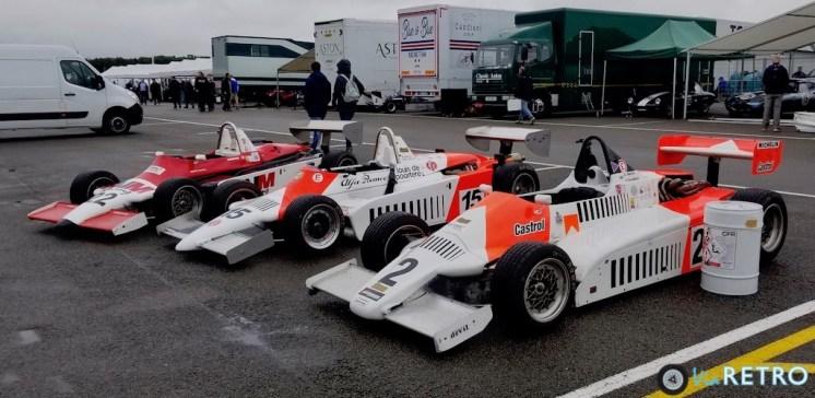 F3 1983 Ralt RT3 x 2, Martini MK39