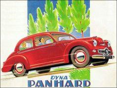 publicité Panhard dyna 1953