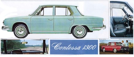 Hino Contessa 1964 Brochure - 2