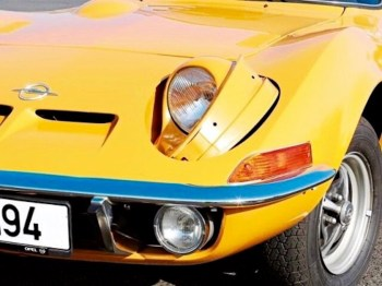 Opel GT - lights