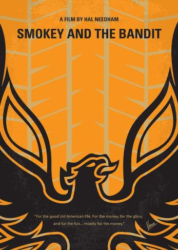 no398-my-smokey-and-the-bandits-minimal-movie-poster-chungkong-art