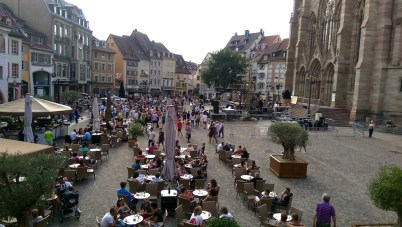 Mulhouse market square