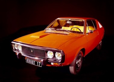 Orange Renault 17 - a