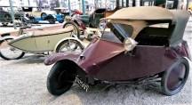 1923 Scott trike, designed to transport cannons!