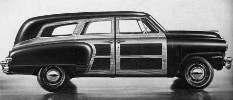 Prototype på Studebaker Station Wagon