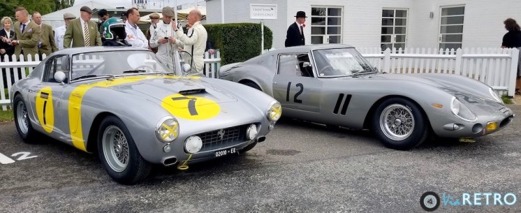 1960 Ferrari 250GT SWb and 1962 GTO