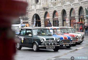 Row of Mini's