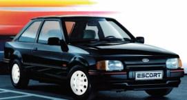 Ford Escort XR3i facelift black