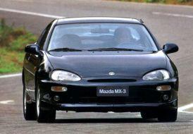 Mazda MX-3 front
